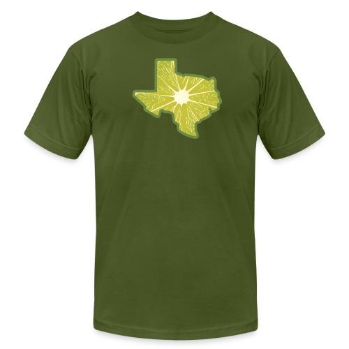 Men's Texas Lime - Men's Fine Jersey T-Shirt