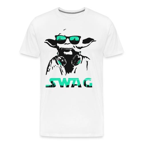 Swag Yoda - Men's Premium T-Shirt