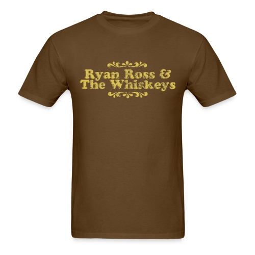 Ryan Ross and The Whiskeys Mock Shirt - Men's T-Shirt