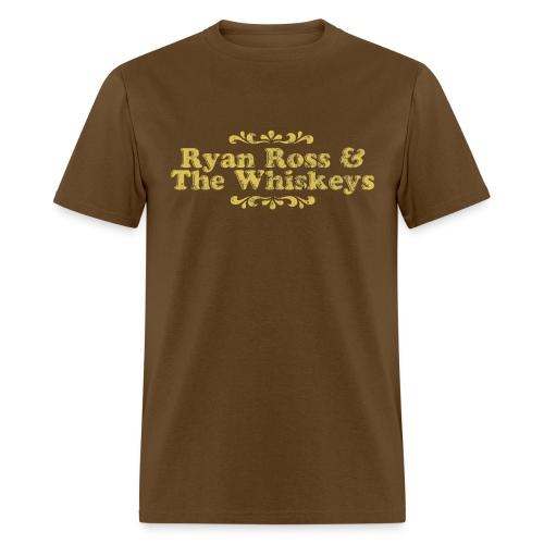 Ryan Ross and The Whiskeys Mock Shirt - Men's T-Shirt