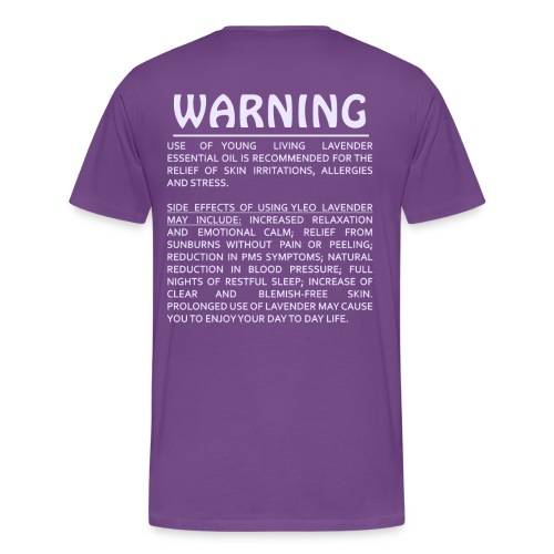 Drops pf Lavender - Mens Tee - Men's Premium T-Shirt