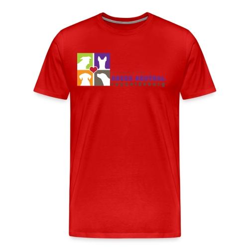Men's Premium T-Shirt - t-shirt,pit bull,dog,breed specific legislation,breed discrimination,breed ban,animal,Reynoldsburg,Freedom of dog,BSL,BDL