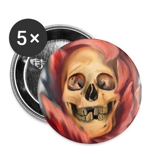 Death in Beauty Button - Large Buttons
