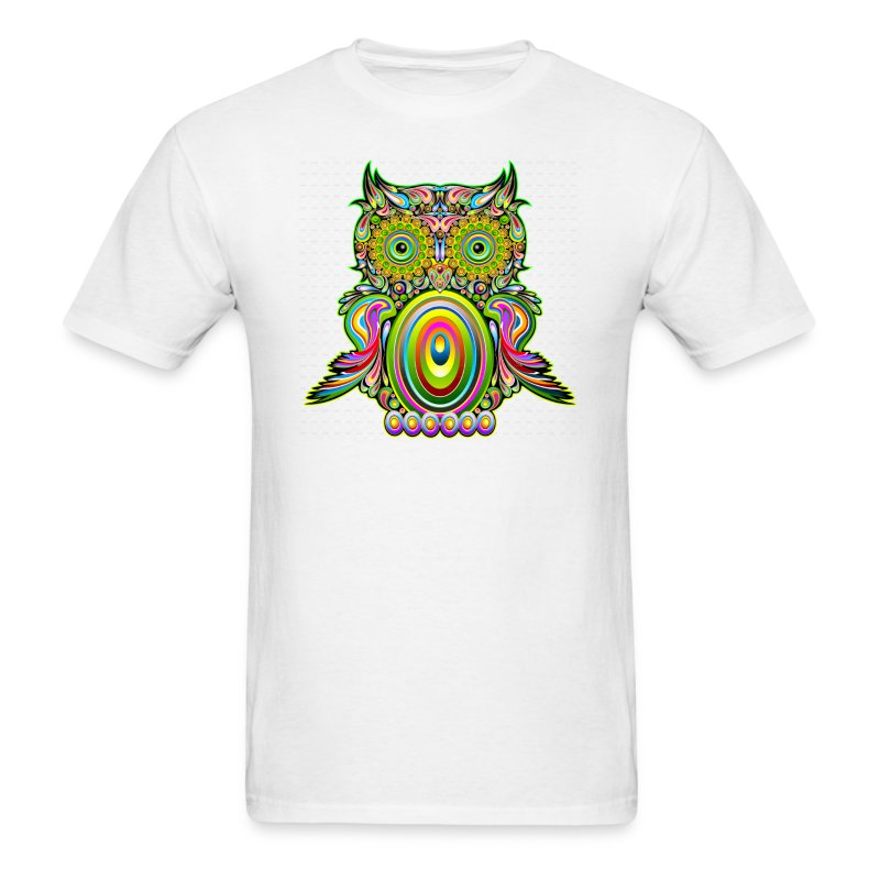 Wise owl t shirt spreadshirt T shirt with owl design