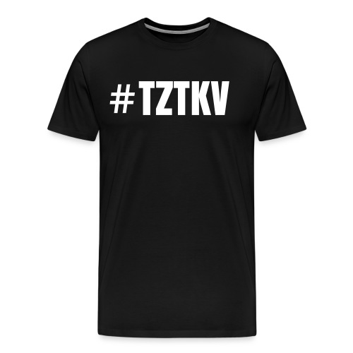 Basic #TZTKV Tee - Men's Premium T-Shirt