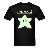 T-Shirts ~ Men's T-Shirt ~ Invincible! (Glow in the Dark)