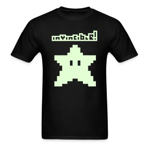 Invincible! (Glow in the Dark) - Men's T-Shirt