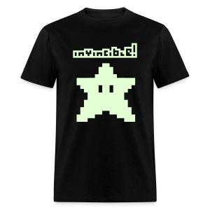 Invincible! (Glow in the Dark) - Men's T-Shirt