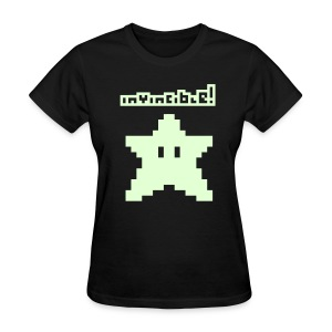 Invincible! (Glow in the Dark) - Women's T-Shirt