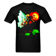 T-Shirts ~ Men's T-Shirt ~ Blocky Peril