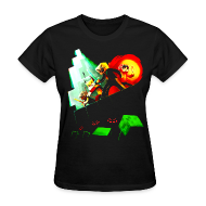 T-Shirts ~ Women's T-Shirt ~ Blocky Peril