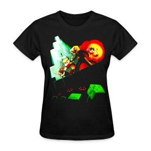 Blocky Peril - Women's T-Shirt