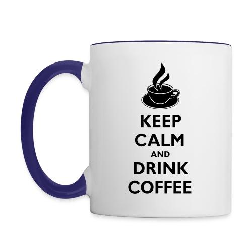 Coffee Cup - Contrast Coffee Mug