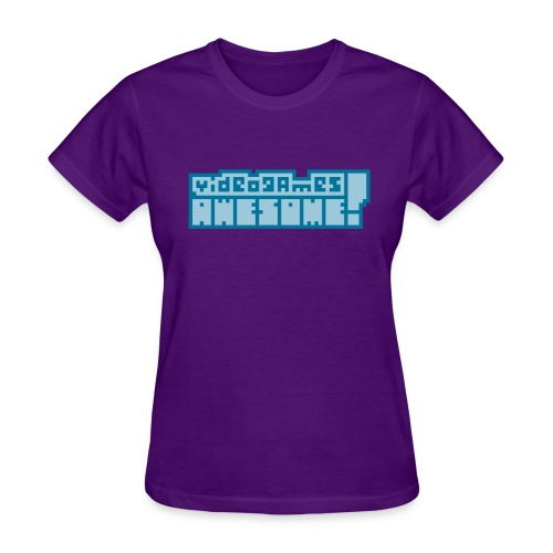 Blue on Blue Logo - Women's T-Shirt