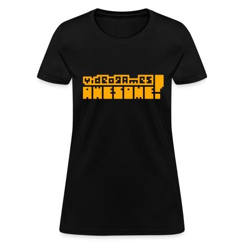 Neon Orange Logo - Women's T-Shirt