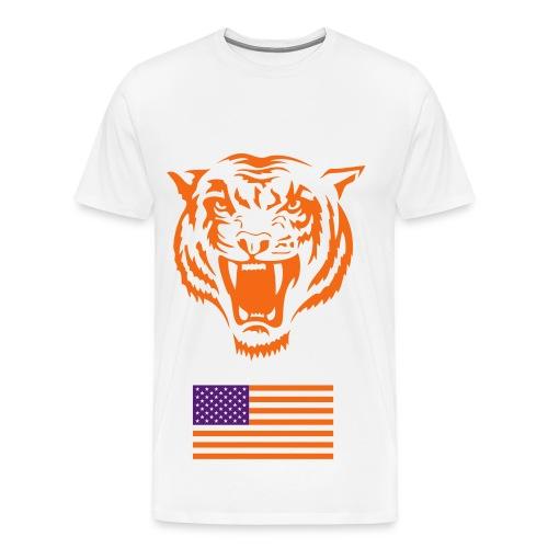 tiger of america - Men's Premium T-Shirt