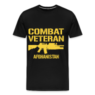 T-Shirts ~ Men's Premium T-Shirt ~ Mens Combat Veteran Premium