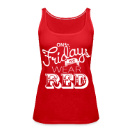 Tanks ~ Women's Premium Tank Top ~ Red Friday Premium Tank