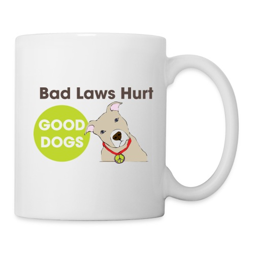 Coffee/Tea Mug - pit bull,mug,dog,coffee,breed specific legislation,breed discrimination,breed ban,animal,Reynoldsburg,Freedom of dog,BSL,BDL