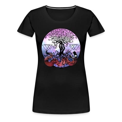 The Life Tree Female - Women's Premium T-Shirt
