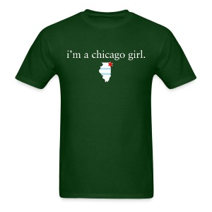 Chicago Girl - Men's T-Shirt