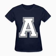 the letter a_w31 Women's T-Shirts