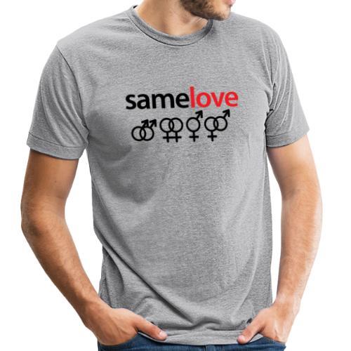 Same Love Vintage Tee (Unisex) - Unisex Tri-Blend T-Shirt