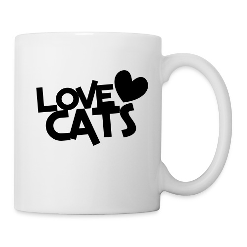 Love Cats - Coffee Mug (black) - Coffee/Tea Mug