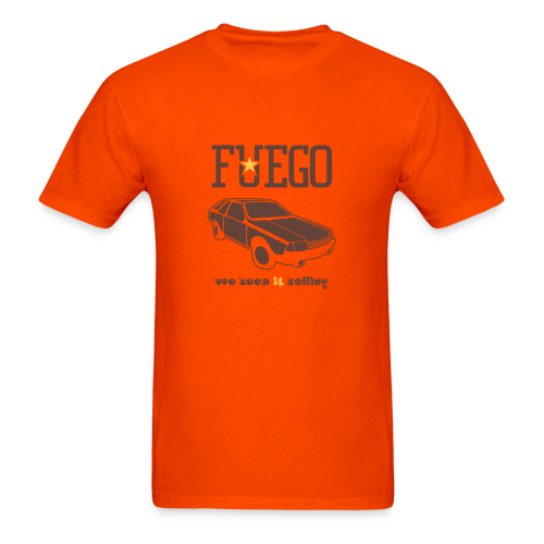 Rogue Fuego With (Brown/Yellow) - Men's T-Shirt