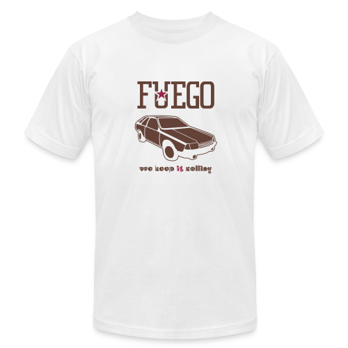Rogue Fuego With (Brown/Crimson) - Men's Fine Jersey T-Shirt