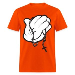 Mickey Pray Hands - Men's T-Shirt