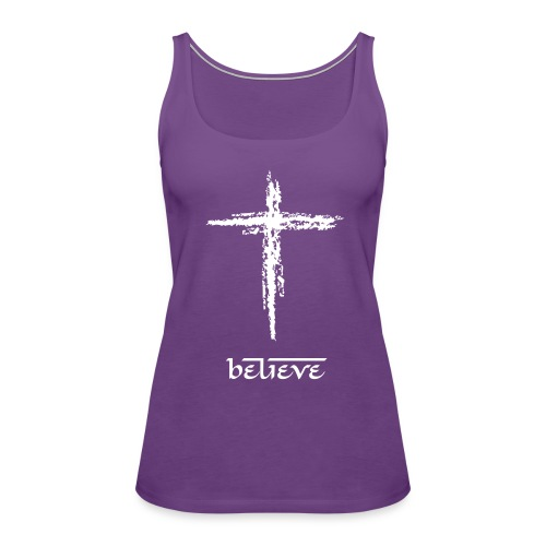 believe - Women's Premium Tank Top