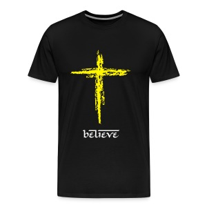 believe - Men's Premium T-Shirt