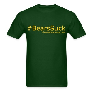 Hashtag Bears Suck - Men's T-Shirt