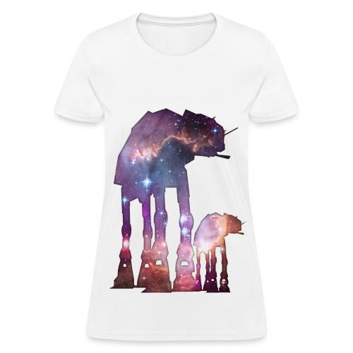 Galactic Walker Star Wars Women's Tee - Women's T-Shirt
