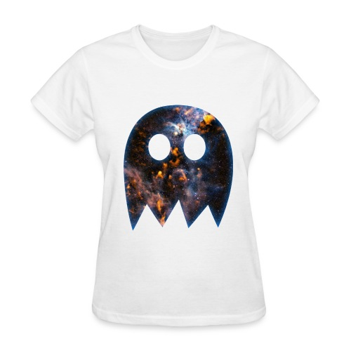 Galactic Ghost Pac Man Women's Tee - Women's T-Shirt