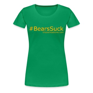 Hashtag Bears Suck - Women's Premium T-Shirt