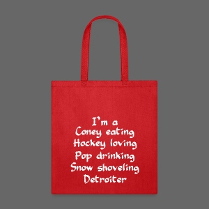Coney Eating Hockey Loving - Tote Bag