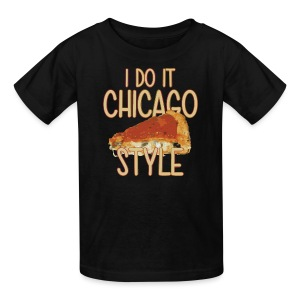 Chicago Style Pizza - Kids' T-Shirt