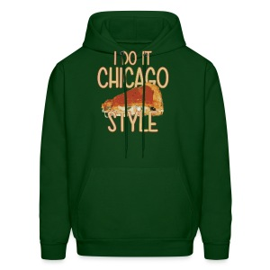 Chicago Style Pizza - Men's Hoodie