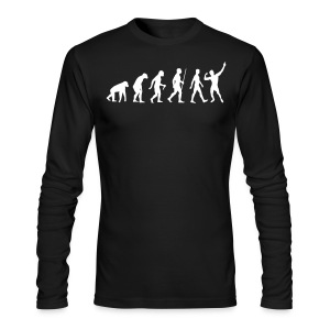 Long Sleeve T-Shirt Zyzz Evolution - Men's Long Sleeve T-Shirt by Next Level