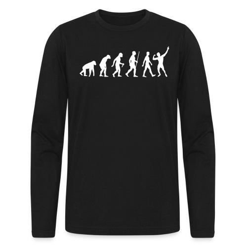 Long Sleeve T-Shirt Zyzz Evolution - Men's Long Sleeve T-Shirt by Next Level