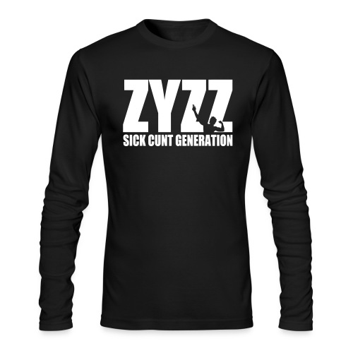 Long Sleeve T-Shirt Zyzz Sickkunt Generation - Men's Long Sleeve T-Shirt by Next Level