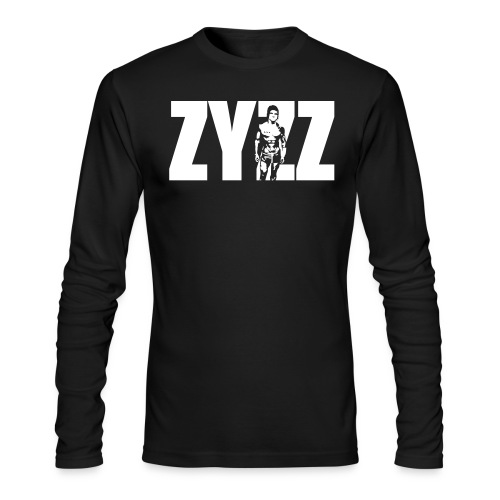 Long Sleeve T-Shirt Zyzz Portrait - Men's Long Sleeve T-Shirt by Next Level
