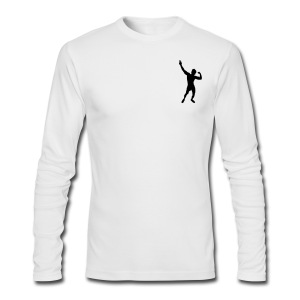 Long Sleeve T-Shirt Zyzz Pose - Men's Long Sleeve T-Shirt by Next Level