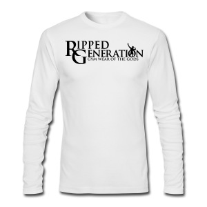 Long Sleeve T-Shirt Ripped Generation - Men's Long Sleeve T-Shirt by Next Level