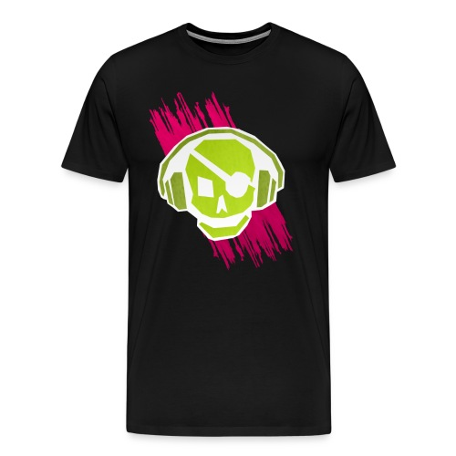 P.A. Logo (LIME) - Boy - Men's Premium T-Shirt