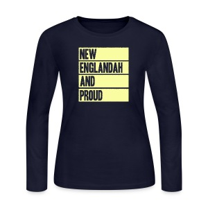 New Englandah And Proud - Women's Long Sleeve Jersey T-Shirt