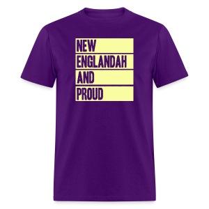 New Englandah And Proud - Men's T-Shirt