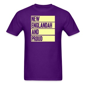 New Englandah And Proud - Men's T-Shirt